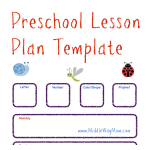 Make preschool lesson plans to keep your week ready for fun activities! - www.MiddleWayMom.com