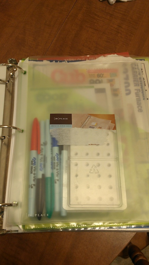 Home Binder Organization