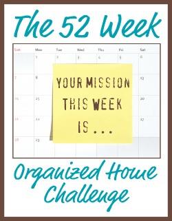 Organized Home Challenge!
