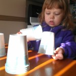 Learning with Cups and a Mirror
