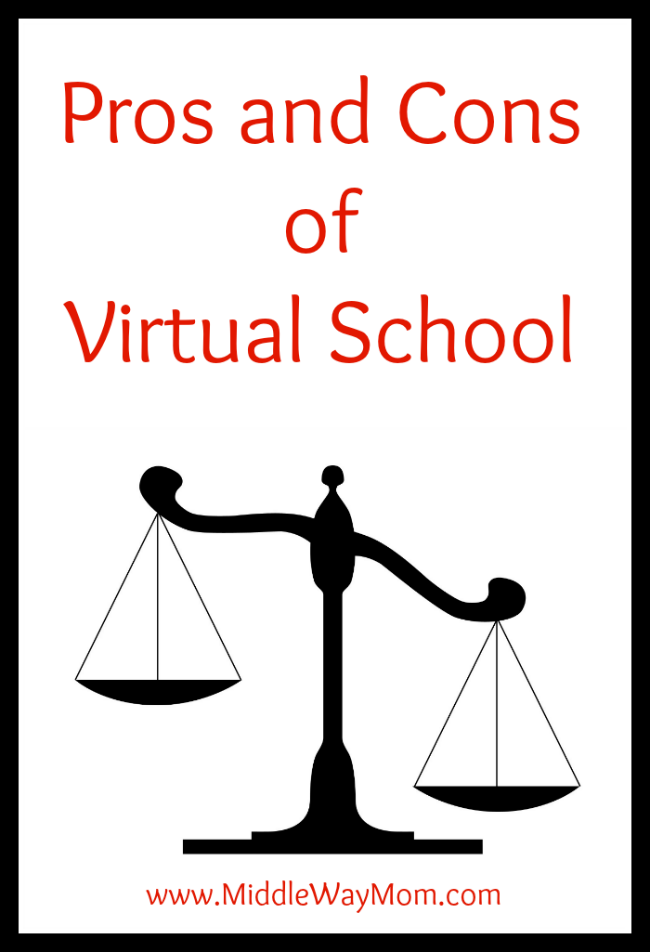 advantage and disadvantage of virtual school Get an answer for 'list the advantages and disadvantages of globalization  social sciences questions at enotes  disadvantage as they do not have.