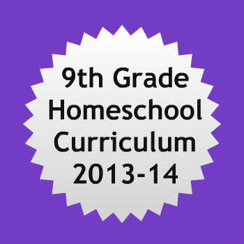 Complete description of our 9th grade homeschool curriculum, aiming for college credit through AP, CLEP, and DSST.