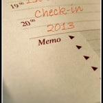 First Quarter Check-in 2013