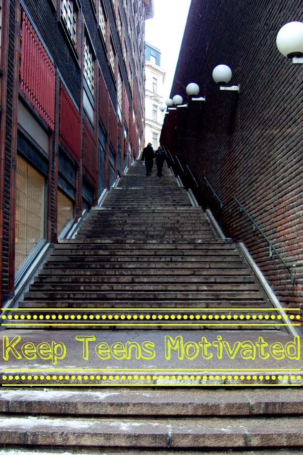 Keep Teens Motivated - www.middlewaymom.com