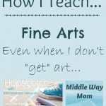 How I Teach Fine Arts