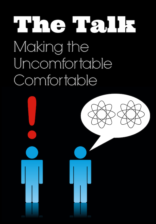 The Talk: Making the Uncomfortable Comfortable - www.MiddleWayMom.com