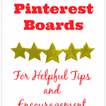 Top 5 Pinterest Boards for Help and Encouragement - www.MiddleWayMom.com