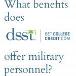 DSST Benefits for Military Personnel