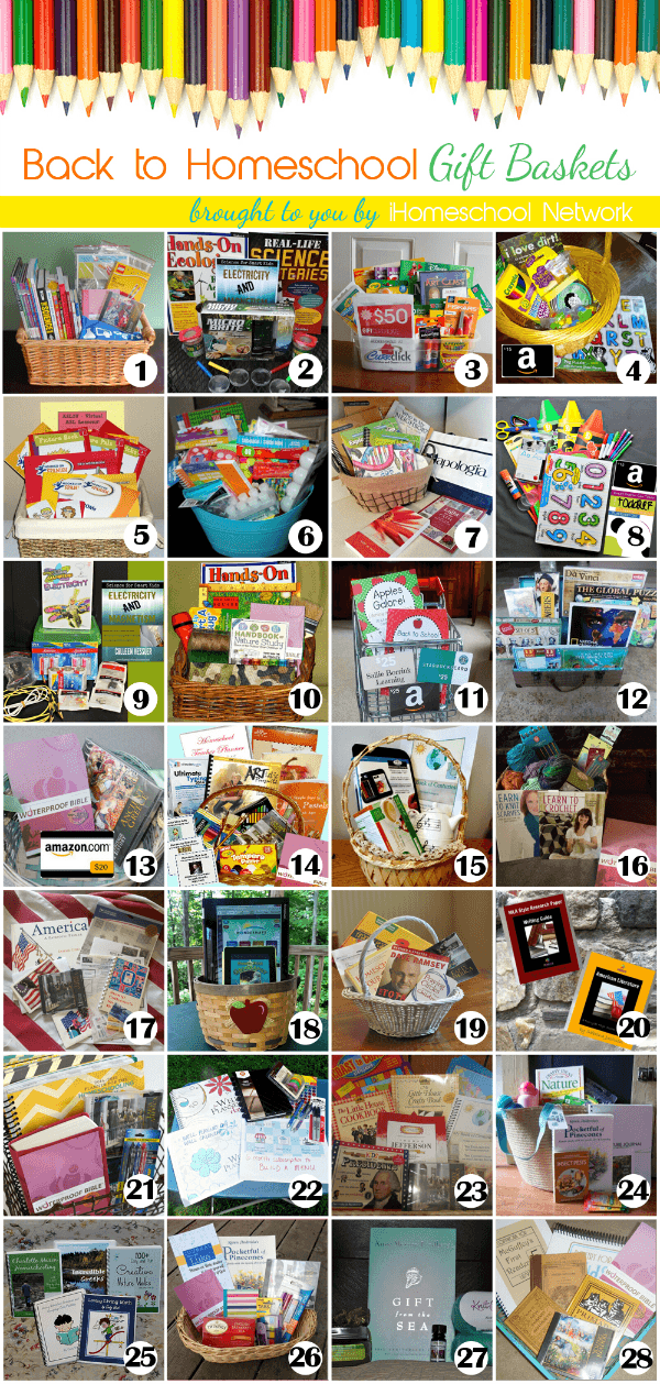 Back to Homeschool Gift Basket Giveaway! - www.MiddleWayMom.com