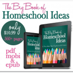 Homeschooling Ideas Wrapped in a Big Book PLUS Pampering Mama Giveaway