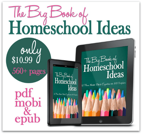 The Big Book of Homeschool Ideas - www.MiddleWayMom.com