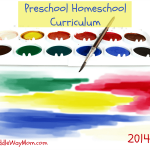 2014-15 Preschool Homeschool Curriculum