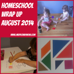 Our homeschool this August - Getting ready for the school year!