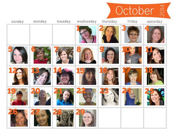 Big Book Blog Tour Calendar