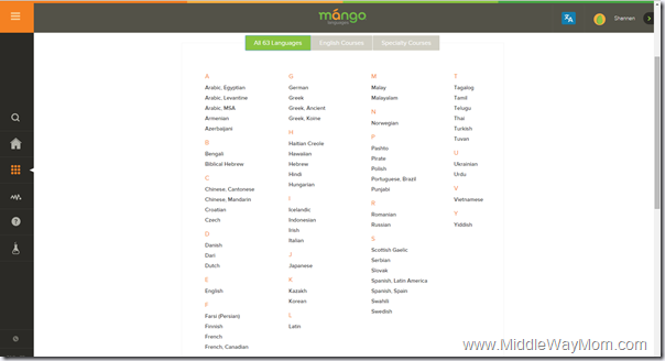 Have you heard of Mango Languagues? Easy language learning online! - www.MiddleWayMom.com