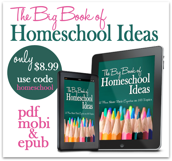 The Big Book of Homeschool Ideas - with promo code!