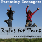 Parenting Teenagers: Rules for Teens