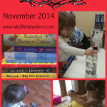 Our homeschool this month: preschool, Usborne books, Elegant Essay, and more