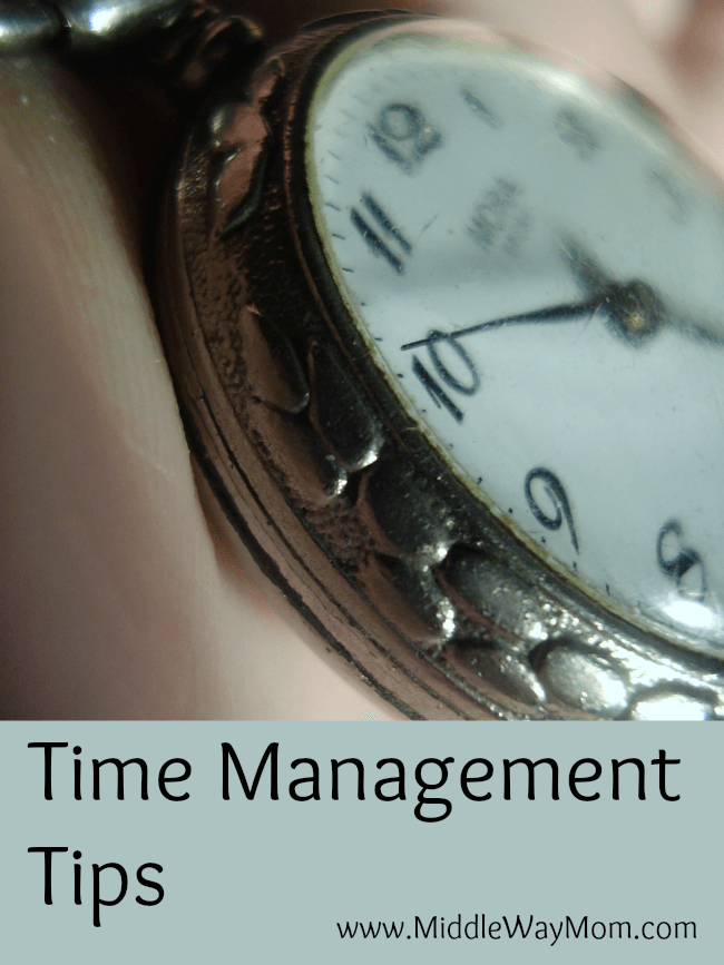 Time management tips for homeschoolers, teens, and the whole family