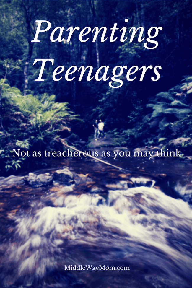 Parenting Teenagers isn't always like white water rafting! Here are some ideas and support to help you through your journey.