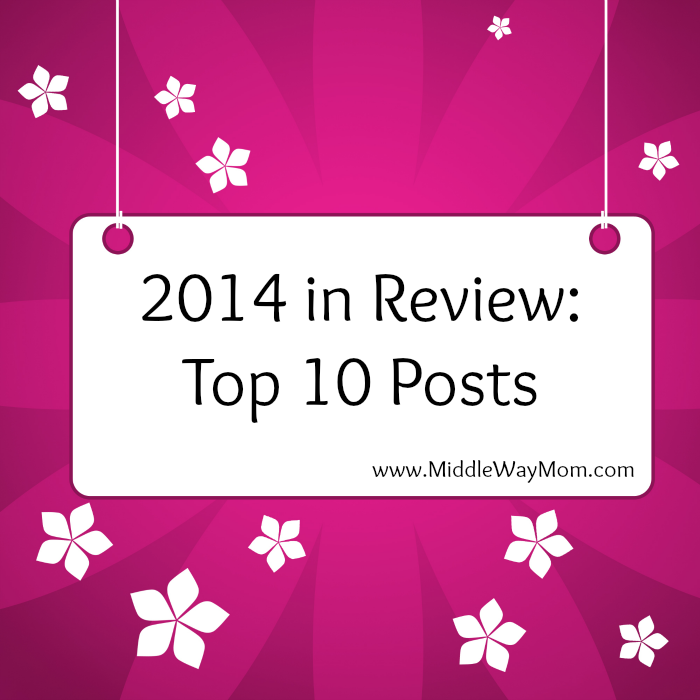 Top Posts from Middle Way Mom in 2014!