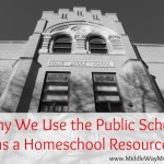 Why We Use the Public School as a Homeschool Resource