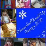 Our homeschool in January: preschool, homemaking, and everyday learning