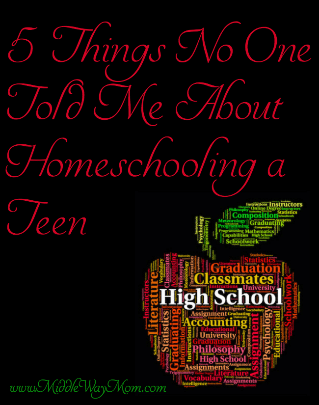 5 Things No One Told Me About Homeschooling My Teen in High School