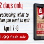 Flash Sale! What to Do When You Want to Quit