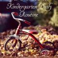 A day in the life of homeschooling Kindergarten