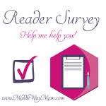 Reader Survey 2016!