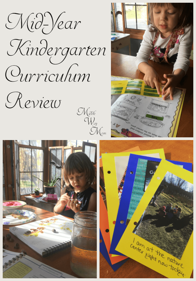 Did our Kindergarten curriculum plans turn into a reality? Our mid-year Kindergarten curriculum review.