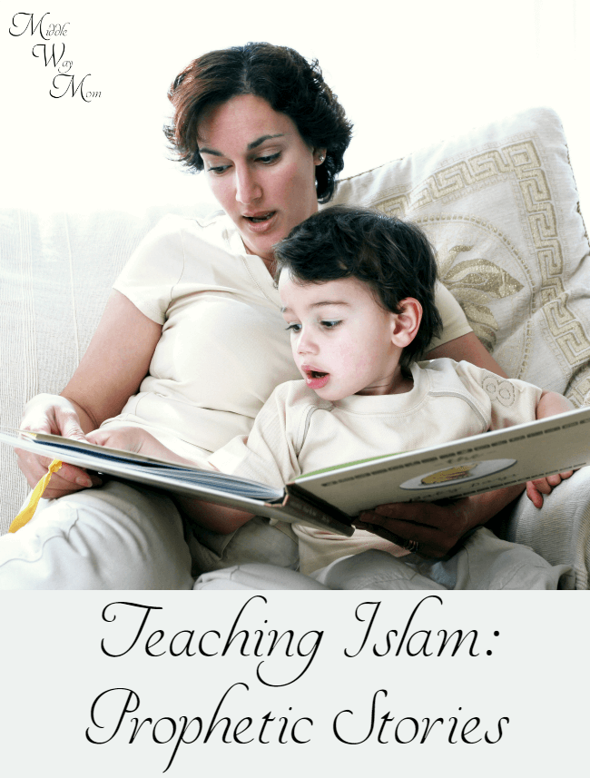 Looking to teach your kids about stories of the prophets? I've listed our core books we use in our Islamic homeschool