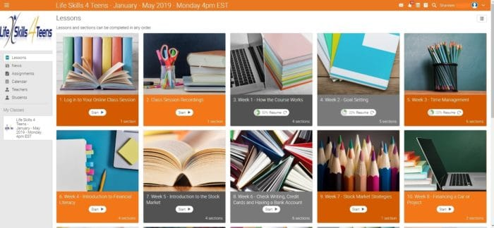Teach high school students life skills with an online class for homeschoolers