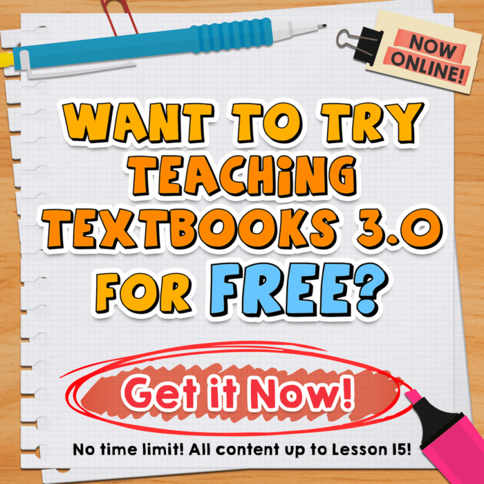 Try Teaching Textbooks 3.0 for FREE
