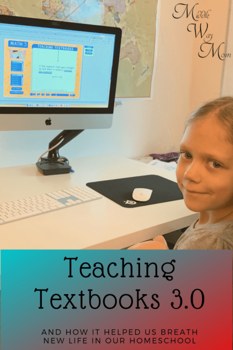 We needed a breath of fresh air in our homeschool, and Teaching Textbooks 3.0 online learning provided just that.