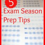 5 Exam Season Prep Tips - www.MiddleWayMom.com
