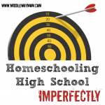 Think our homeschool is perfect? Think again. Today we're getting real, and sharing our imperfect homeschool. - www.MiddleWayMom.com