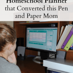 The Online Homeschool Planner that Converted this Pen and Paper Mom