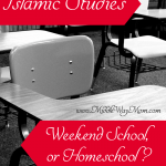 Should you approach Islamic studies at home or through a weekend school? We take a look at both sides.