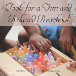 Homeschooling preschool doesn't need to be tied to a curriculum. Put away the lesson plans and pick up some of these tools!